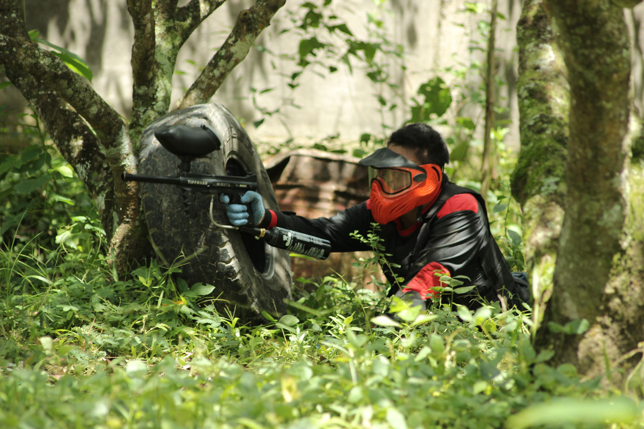 Arena Paintball di Mataram