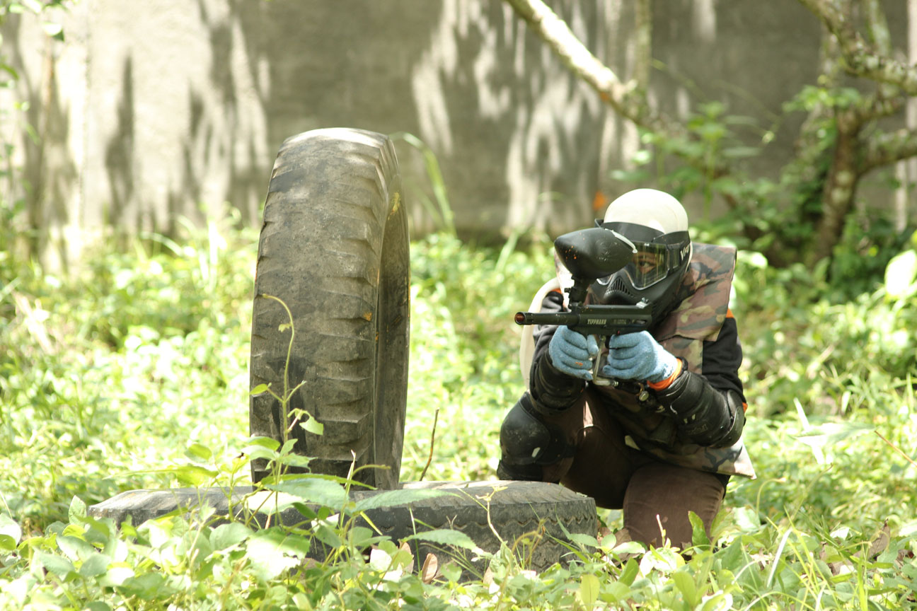 Main Paintball di Mataram